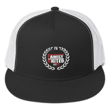 Family United Logo Trucker Hat Black/White