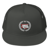 Family United Logo Trucker Hat Black