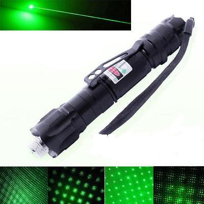 10 Miles Range 532nm Green Laser Pointer Light Pen Visible Beam High Power Lazer.