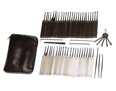 60 Pick Lock Pick Set for Professional Lock Smiths & Law Enforcement