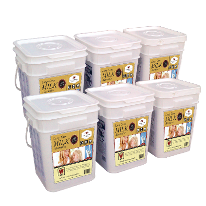 Wise Milk bucket consists of 720 servings (12 servings per pouch) of delicious whey milk. Just add one cup of water per serving and ready to drink.