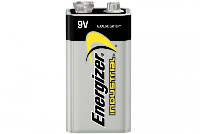 9 volt battery for security products used by women and men.