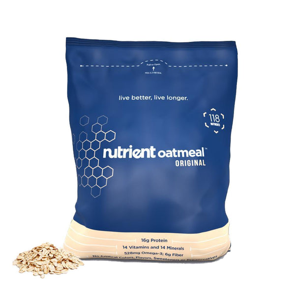 Nutrient (30 Servings) Oat Meal Bulk