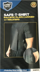 Safe-T-Shirt Ballistic Plate Carrier with Holster