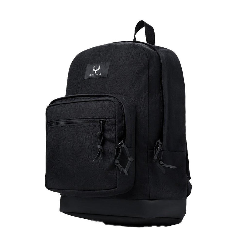 Black lightweight bulletproof backpack for women and men of all ages personal safety.
