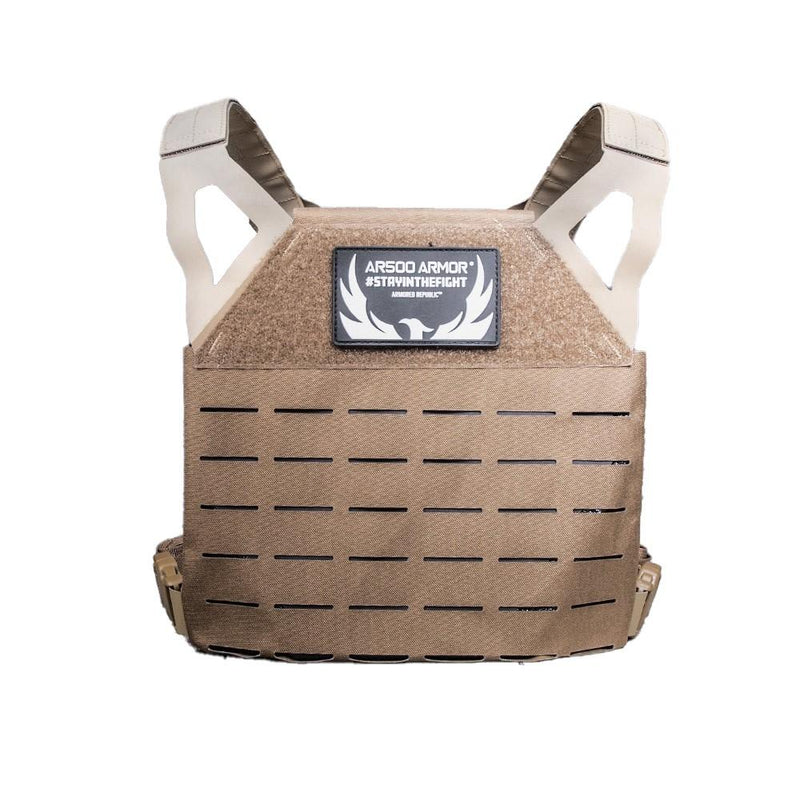 The AR500 Armor Freeman plate carrier with all the protection of NIJ compliant Level III plates