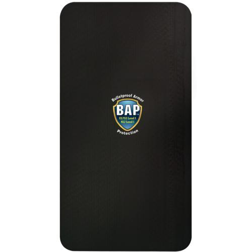 BAP™ Level 3 Bullet Resistant Ballistic Plate Large  10 x 19 ideal solution for inserting into your favorite backpack.