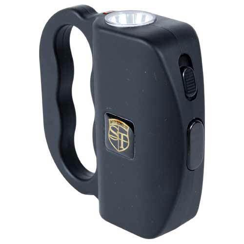 Color black Talon stun gun for self defense protection.
