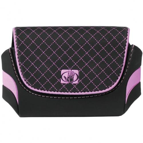 Quality Bodyglove pink n black purse wallet holster for small stun guns sold here on line exclusively.