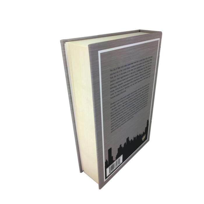 Bulk wholesale on line offer for the Streetwise new york book safe view of the side.