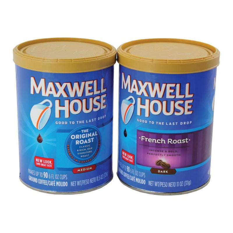 Diversion safe can using the authentic Maxwell House Coffee to give appearance as a real can of coffee while hiding valuables inside safely.