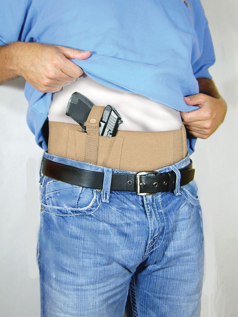 Conceal Carry Waster Belly Band for Men to Carry Handgun with Permit