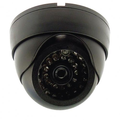 Fake Dummy IR Dome Security Camera with flashing light looks the same as a real camera but much less cost and affordable.