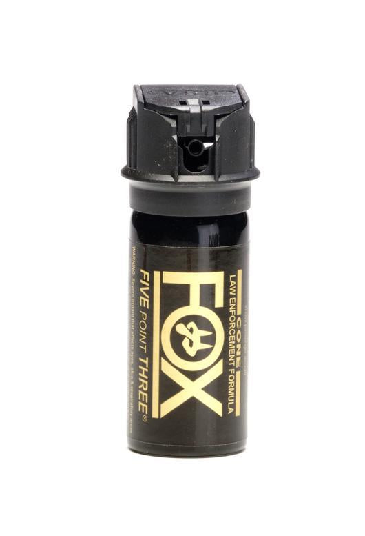 Fox labs flip top pepper spray for self defense protection.