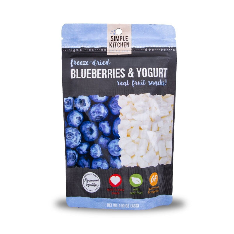 Freeze-Dried Blueberries and Yogurt 6 Pack