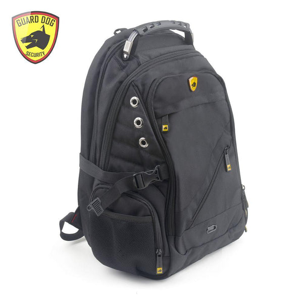 Guard Dog Prosheild 2 black bulletproof backpack for all ages including boys, men and women.