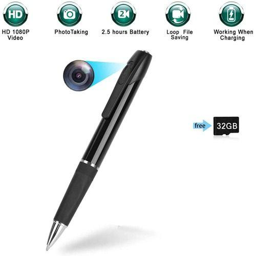 New technology this HD pen with hidden camera includes DVR high quality discrete video recordings.