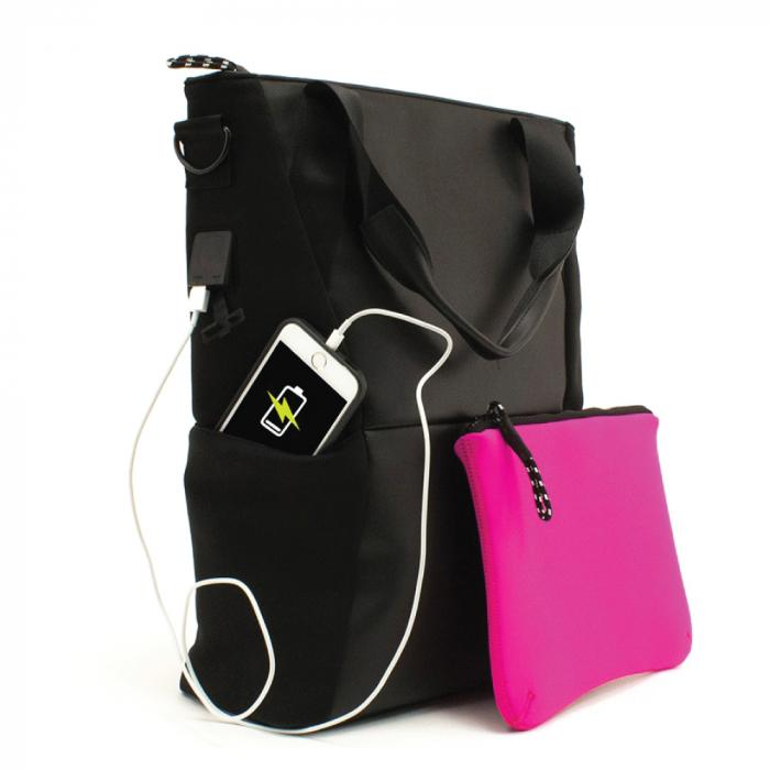 Streetwise Power Bank Tote Bag (Without Ballistic Plate)