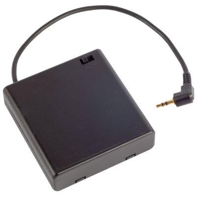 Spare back up RFID battery pack for use with hidden vent and wall shelve safes.
