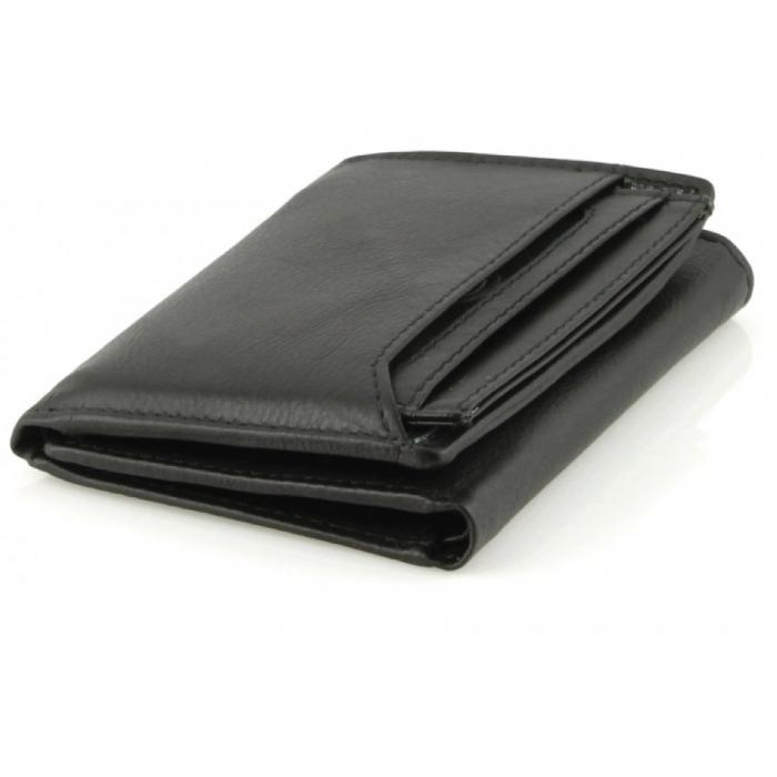 Leather Wallet Bifold w/ RFID Protection