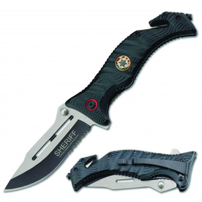 SHERIFF Rescue Knife for everyday and or survival use.