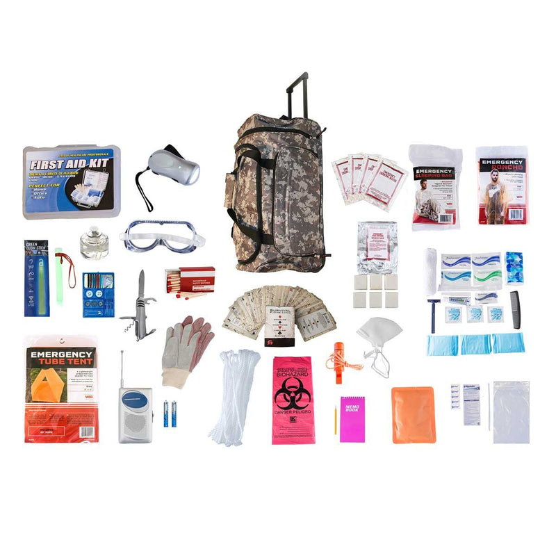 2 Person Food & Water Elite Survival Kit (72+ Hours)