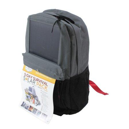 Solar Backpack Survival Kit