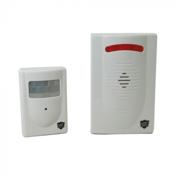 Driveway patrol motion detection alarm system for homes and even business safety.