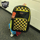 Streetwise Emoji Bulletproof Backpack Yellow