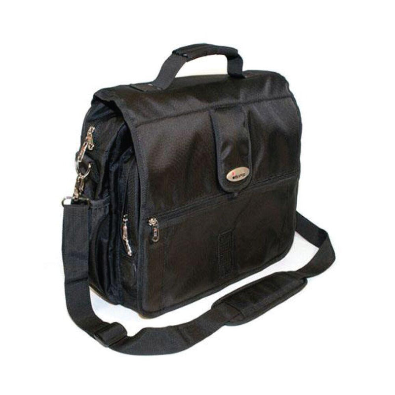 All purpose bulletproof shoulder bag for laptops and books.