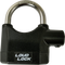 Streetwise Loud Lock Padlock with Alarm perfect for securing areas an if the lock is ever touched the loud alarm will sound after a few seconds.