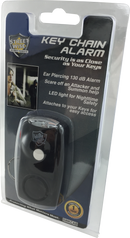 Manufacturer packaging for the Safety Streetwise Security Key Alert with Flashlight key-chain-alarm.