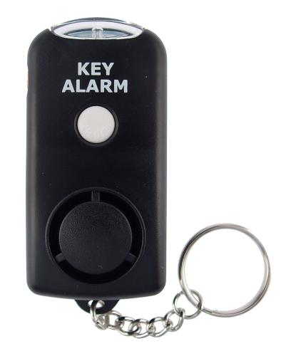 Streetwise Key Chain Alarm conveniently attaches to your keys so you can be ready in a moment's notice to sound the 130dB alarm to scare off an attacker and summon help.