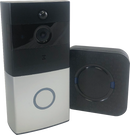 Streetwise Smart WiFi Doorbell with Chime speaker you can watch and speak to anyone that approaches the front door area., even with your Smart phone anywhere in the world.