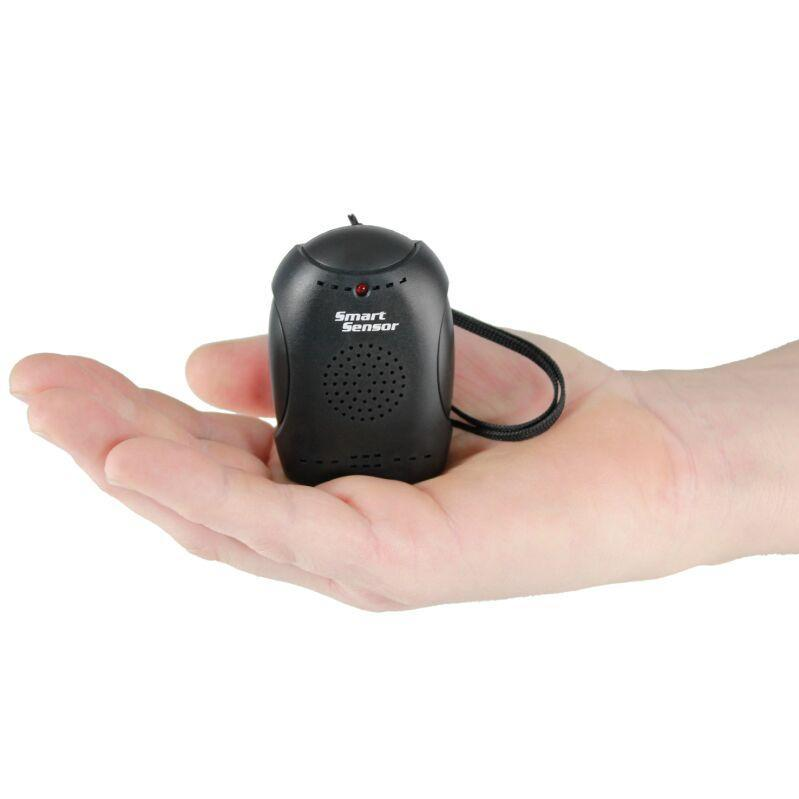 Personal alarm also detects changes in the air pressure that will set off the alarm.