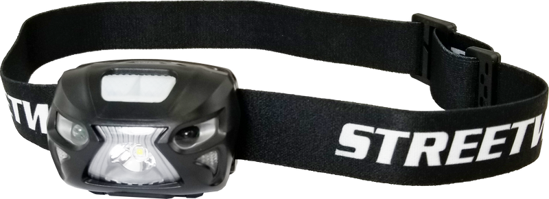 Streetwise Smart Light LED Headlamp is the smartest flashlight you will ever own! Its rechargeable so you will never have to waste money on batteries.