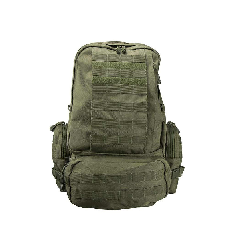 The Vism 3013 3-Day backpack for multi uses in the color green.