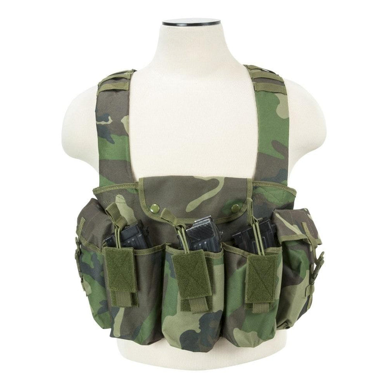 NcStar Vism Brand AK Chest Rig Available Six Different Colors
