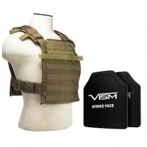 NC Star Fast Plate Carrier Level III+ PE Shooter's Cut