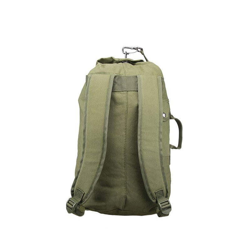The Vism small duffel bag with shoulder straps for multi-purpose uses including emergency preparedness.
