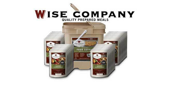 Wise Emergency Food 120 Main Entree Meals
