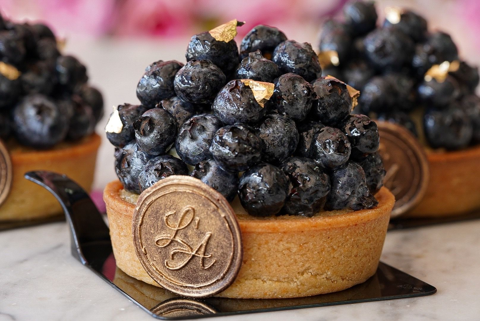 Blueberries Tart (GF)