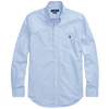 B&T Stretch Poplin Sport Shirt (Blue Check)