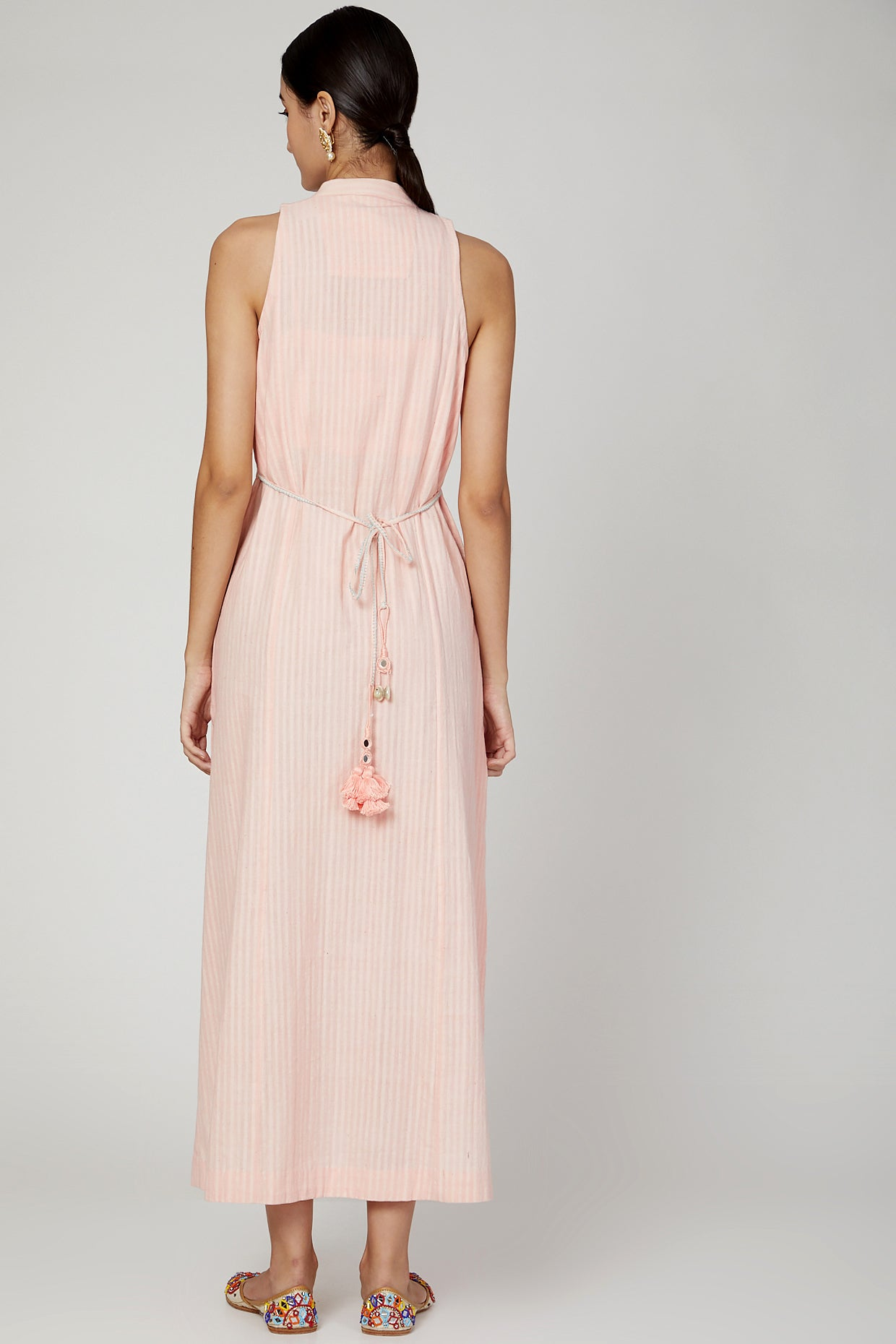 Pink sunset dress / kurta