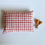 Load image into Gallery viewer, WHITEWATER KIDS GIFT SET - ORGANIC MANJHA PRINT KAPOK PILLOW & MARACAS
