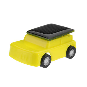 Solar Powered Toy Mini Car Kids Gift Super Cute Creative ABS No-toxic Material Children Favorate