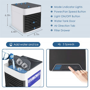 Portable Air Conditioner Artic Humidifier