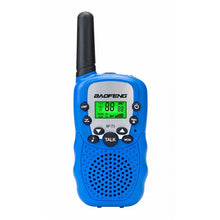 Load image into Gallery viewer, 2Pcs Baofeng BF-T3 Radio Walkie Talkie UHF462-467MHz 8 Channel Two-Way Radio Transceiver Built-in Flashlight 5 Color for Choice