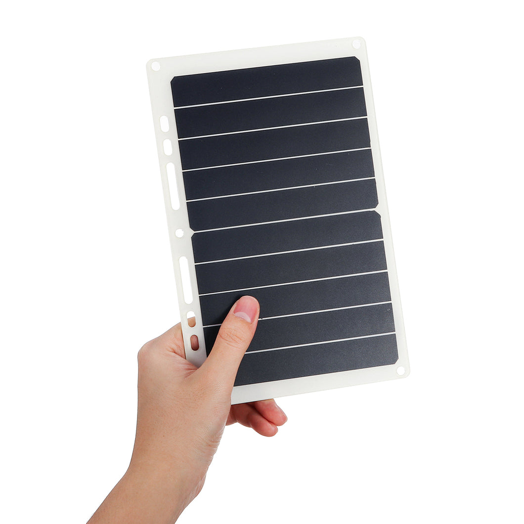 10W 6V 1.7A Portable USB Solar Panel Solar Power Bank W/ Ring Binder Eyelet