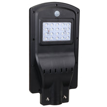 Load image into Gallery viewer, 20W 40W 60W LED Wall Street Solar Light Radar Induction Motion Sensor Outdoor Lamp